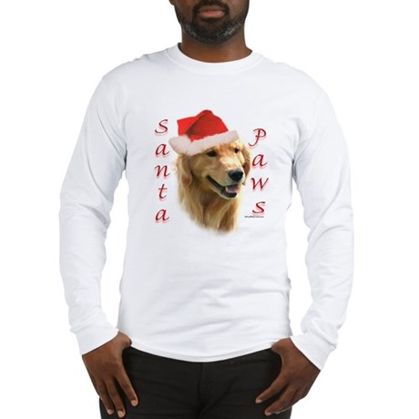 Santa Paws Golden Long Sleeve T-Shirt