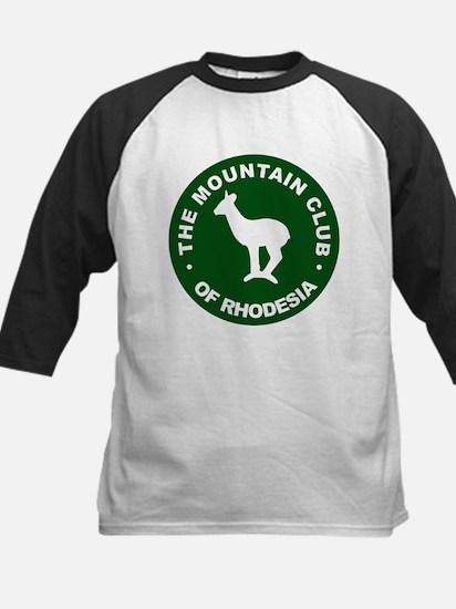 Rhodesian Mountain Club green Kids Baseball Jersey