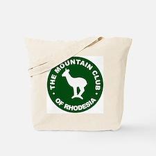 Rhodesian Mountain Club green Tote Bag