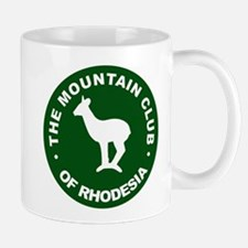 Rhodesian Mountain Club green Mug