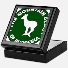 Rhodesian Mountain Club green Keepsake Box