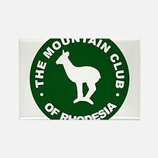 Rhodesian Mountain Club green Rectangle Magnet