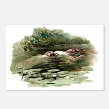 Copping Ophelia Postcards (Package of 8)