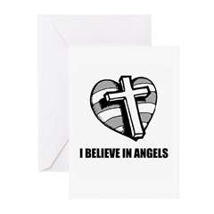 I beleive in angels Greeting Cards (Pk of 10)