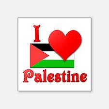 "I Love Palestine #4 Square Sticker 3"" x 3"""