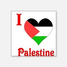 "I Love Palestine #5 Square Sticker 3"" x 3"""