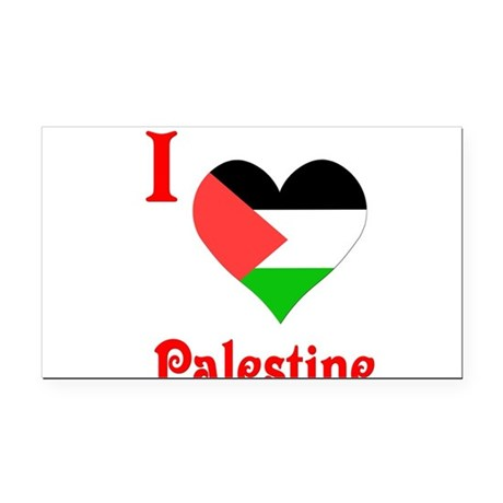 I Love Palestine #5 Rectangle Car Magnet
