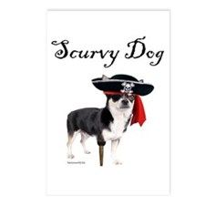 Scurvy Dog Postcards (Package of 8)