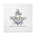 The Masonic Shop Logo Queen Duvet