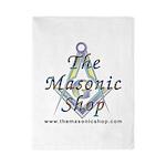 The Masonic Shop Logo Twin Duvet
