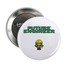 Future Engineer Button (girl)