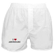 I HEART ABERDARE  Boxer Shorts