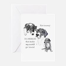 Merles World Greeting Cards (Pk of 10)