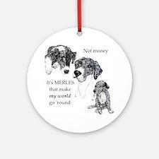 Merles World Ornament (Round)