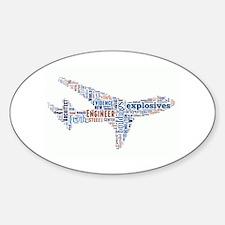 Flight of 911 Truth Sticker (Oval)