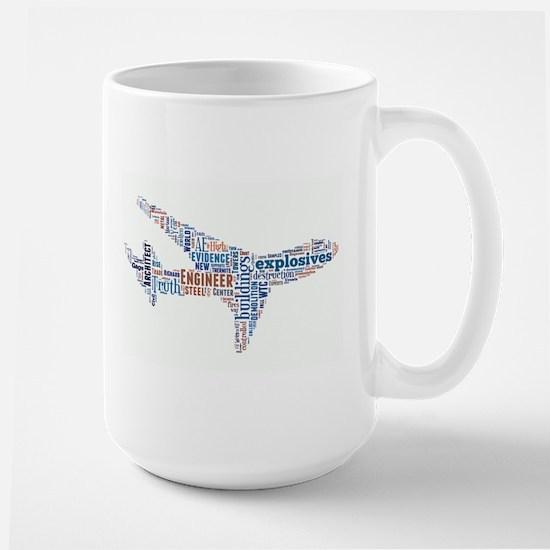 Flight of 911 Truth Large Mug