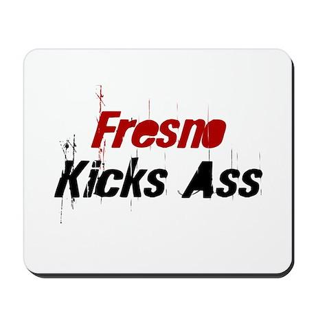 Fresno Kicks Ass Mousepad