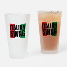 Italian Swag Drinking Glass