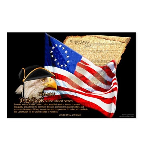 "Preamble ""We The People"" Postcards (Package of 8)"