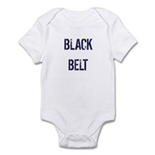 Black Belt (Front) Brown Shoes (Back) Infant Bodys