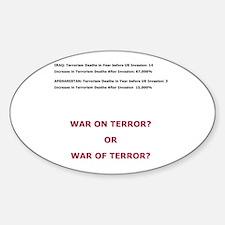 War on Terror or War of Terror? Decal