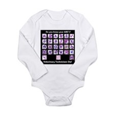 Do You Know Your ABC's? Long Sleeve Infant Bodysui