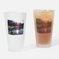 Cruising the Mountains Drinking Glass