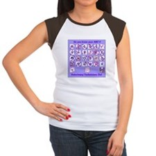 Do you know your ABC's? Women's Cap Sleeve T-Shirt
