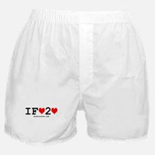 """i fart 2 love"" Boxer Shorts"