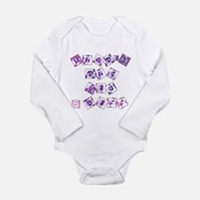 What's The Big Diff Long Sleeve Infant Bodysuit