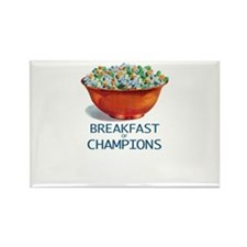 Breakfast of Champions Rectangle Magnet