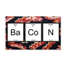 Elemental Bacon Wall Decal