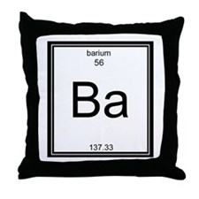 Elemental Bacon Throw Pillow