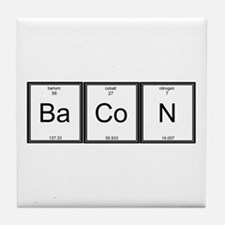 Elemental Bacon Tile Coaster