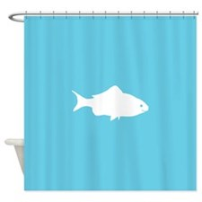 Cute Fish Shower Curtain