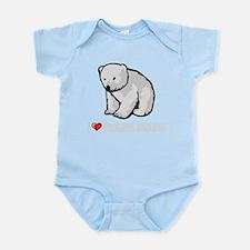 I Love Polar Bears Body Suit