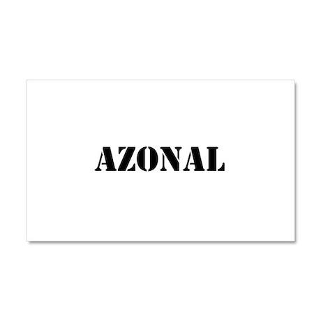 Azonal Car Magnet 20 x 12