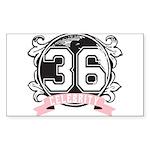 Celebrity Sticker (Rectangle 50 pk)