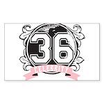 Celebrity Sticker (Rectangle 10 pk)
