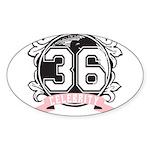 Celebrity Sticker (Oval 50 pk)
