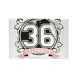 Celebrity Rectangle Magnet (100 pack)