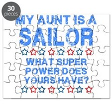 My Aunt is a Sailor (Blue) Puzzle