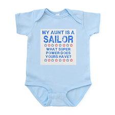 My Aunt is a Sailor (Blue) Infant Bodysuit