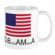 America blesses Obama Mug