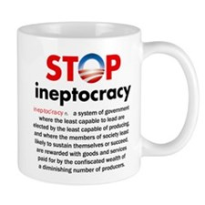 Stop Obama's Ineptocracy Mug