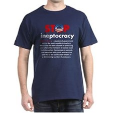 Stop Obama's Ineptocracy T-Shirt