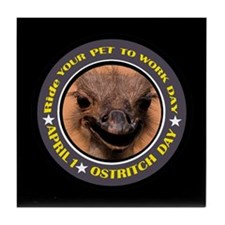 RIDE OSTRITCH Tile Coaster