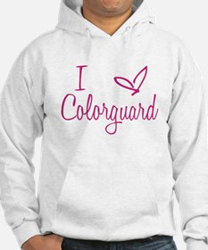 I love Colorguard Jumper Hoody