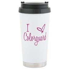 I love Colorguard Travel Mug