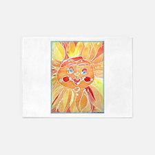 Sun! Sunshine, fun art! 5'x7'Area Rug